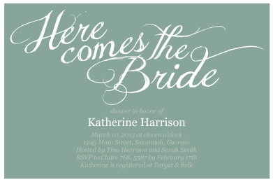 Here Comes The Bride_blue