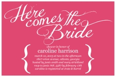 Here Comes The Bride_Pink