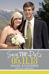 Save The Date Rectangle