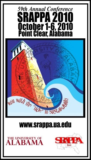 UA Facilities SRAPPA Logo Business Card