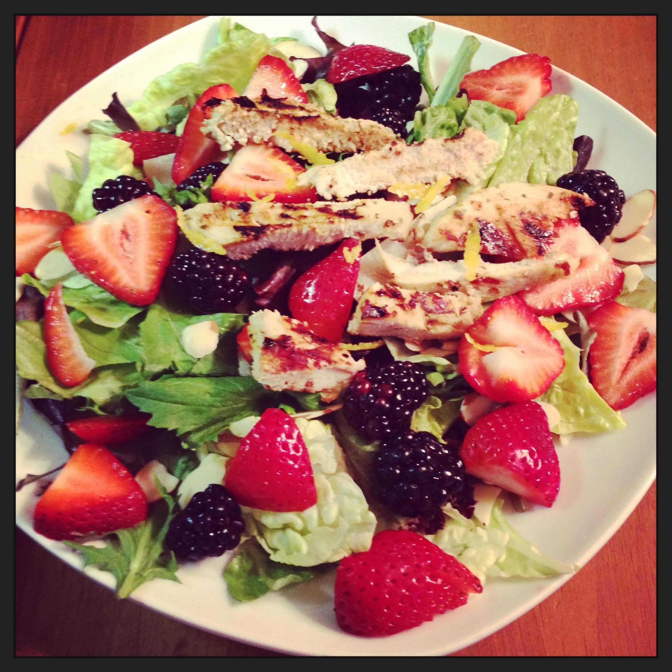 Lemon Pepper Chicken Salad