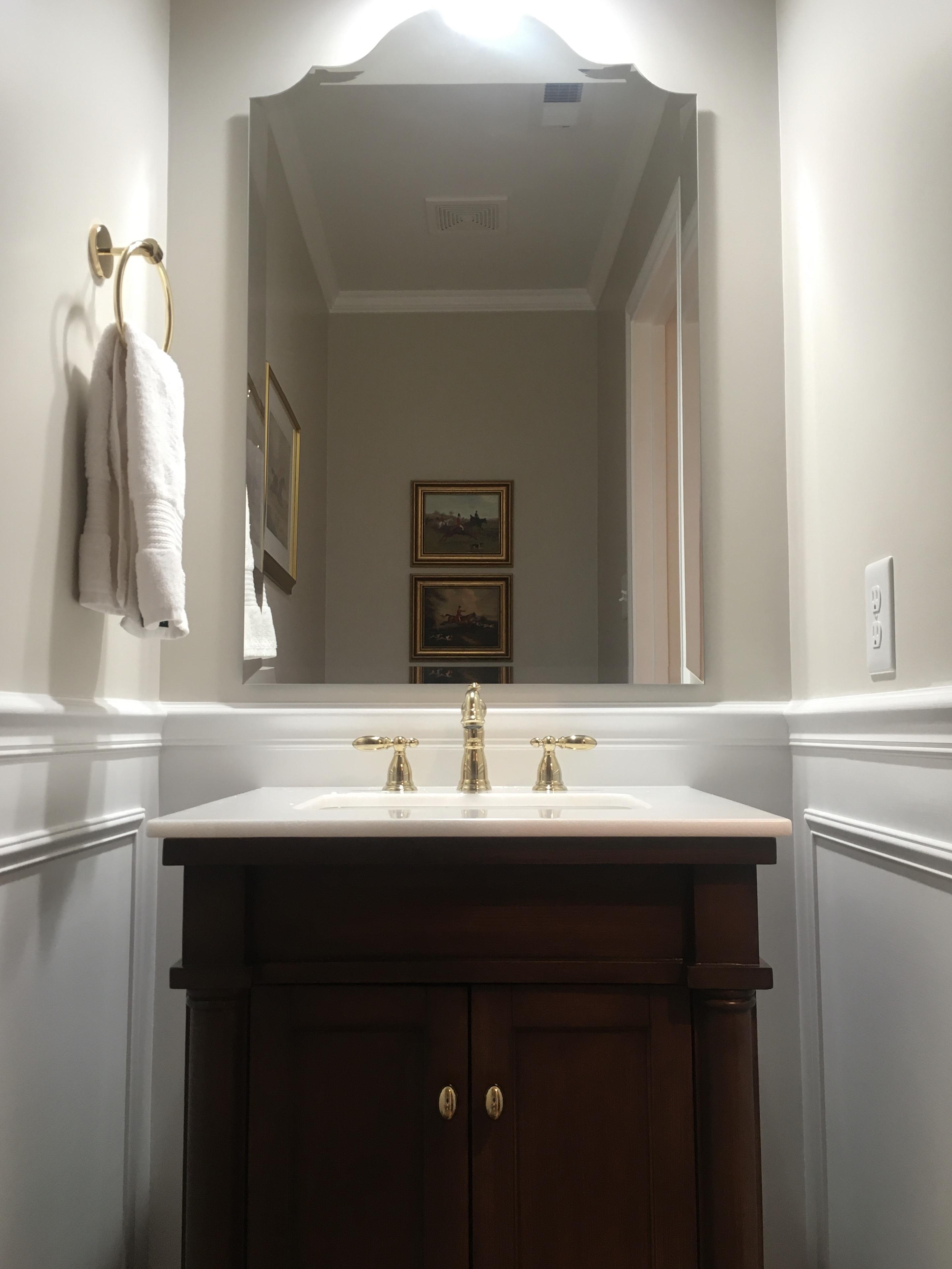 Half Bathroom Remodel Complete Monarch Way